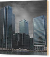 The Docklands Wood Print