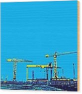 The Docks Wood Print