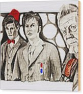 The Doctors Wood Print