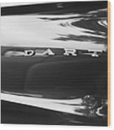 The Dodge Dart Wood Print