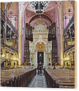 The Dohany Street Synagogue Budapest Wood Print