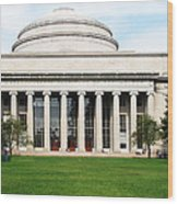 The Dome At Mit Wood Print
