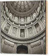 The Dome Wood Print