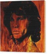 The Doors Light My Fire Wood Print