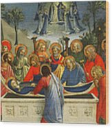 The Dormition Of The Virgin Wood Print