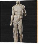 The Doryphoros Of Polykleitos Wood Print