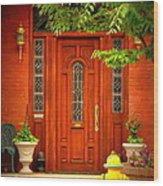 The Dream Door Wood Print