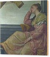 The Dream Of Saint Helena Wood Print