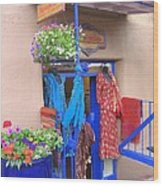 The Dress Shop - New Mexico Wood Print