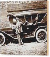 The Driver Wood Print