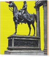 The Duke Of Wellington Yellow Wood Print