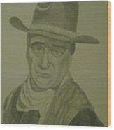 The Duke  Wood Print