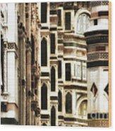 The Duomo Up Close Wood Print