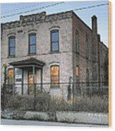 The Duquesne Building - Spokane Washington Wood Print