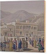 The Durbar-khaneh Of Shah Wood Print