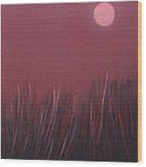 The dusk Wood Print