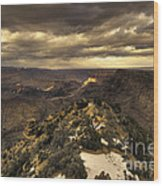 The Eastern Rim Of The Grand Canyon Wood Print