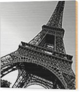 The Eiffel Tower Wood Print by Olivier Le Queinec