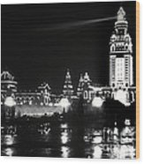 The Electric Tower Pan American Exposition Buffalo New York 1901 Wood Print