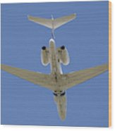 The Elusive Israeli Air Force G550 Aew Wood Print
