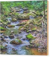 The Emerald Forest 6 Wood Print