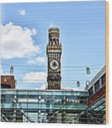 The Emerson Bromo-seltzer Tower Wood Print