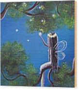 The Enchanted By Shawna Erback Wood Print