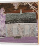The Enchanted Cottage Wood Print