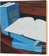 The Encyclopedia Of Newfoundland And Labrador - Joeys Books Wood Print