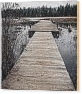 Pier Hamilton Marsh  Wood Print