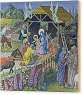 The Epiphany, 1987 Wood Print
