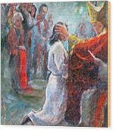 The Episcopal Ordination Of Sierra Wilkinson Wood Print
