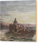 The Escape Of Mary Queen Of Scots Wood Print
