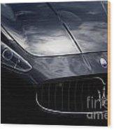 The Essence Of Maserati Wood Print