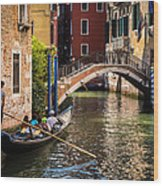 The Essence Of Venice Wood Print