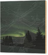 The Essence Of Winter Wood Print