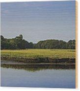 The Essex Marsh Wood Print
