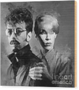 The Eurythmics Wood Print