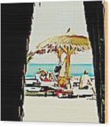 The Expats Wood Print by Peter Waters