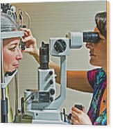 The Eye Doctor Wood Print