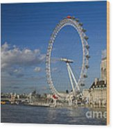 The Eye In London Wood Print