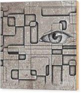 The Eye Of Big Brother Wood Print