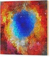 The Eye Of Heaven Wood Print
