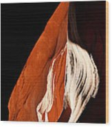 The Eye Of Lower Antelope Canyon Wood Print