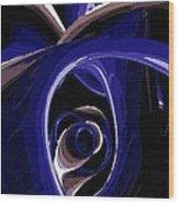 The Eye Of Sorrow Wood Print
