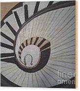 The Eye Of Stairs Wood Print