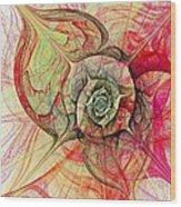 The Eye Within Wood Print