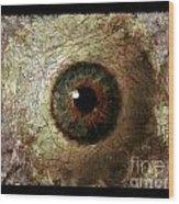 The Eyes 12 Wood Print