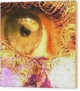 The Eyes 4 Wood Print