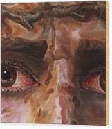 The Eyes Of Eternal Love Wood Print